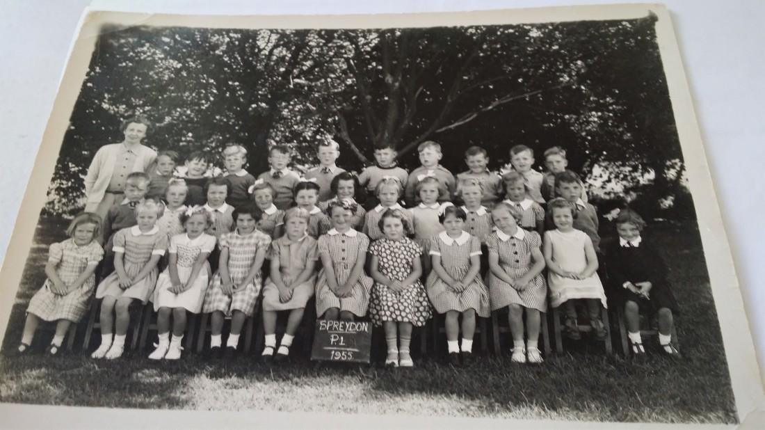 Spreydon School P1 1955
