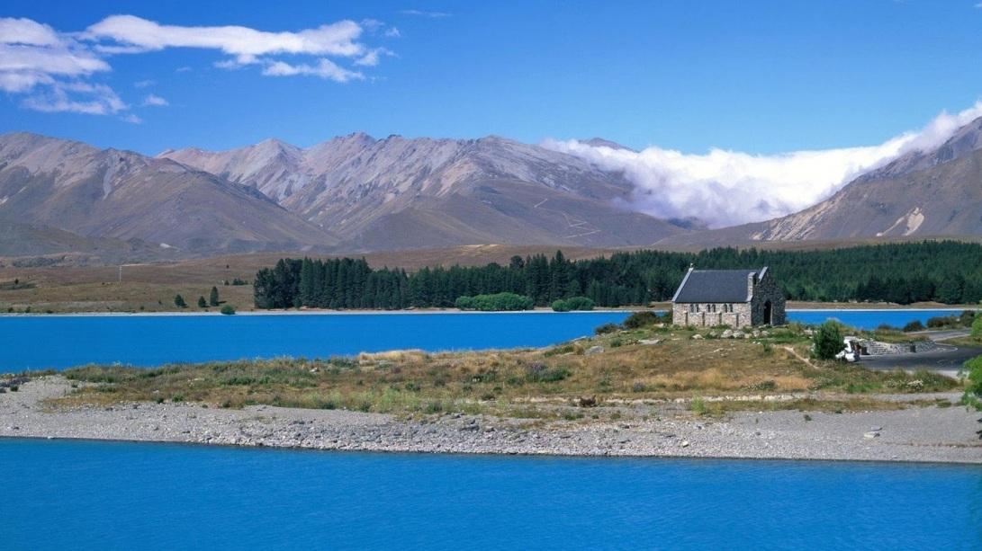 Lake Tekapo New Zealand x3