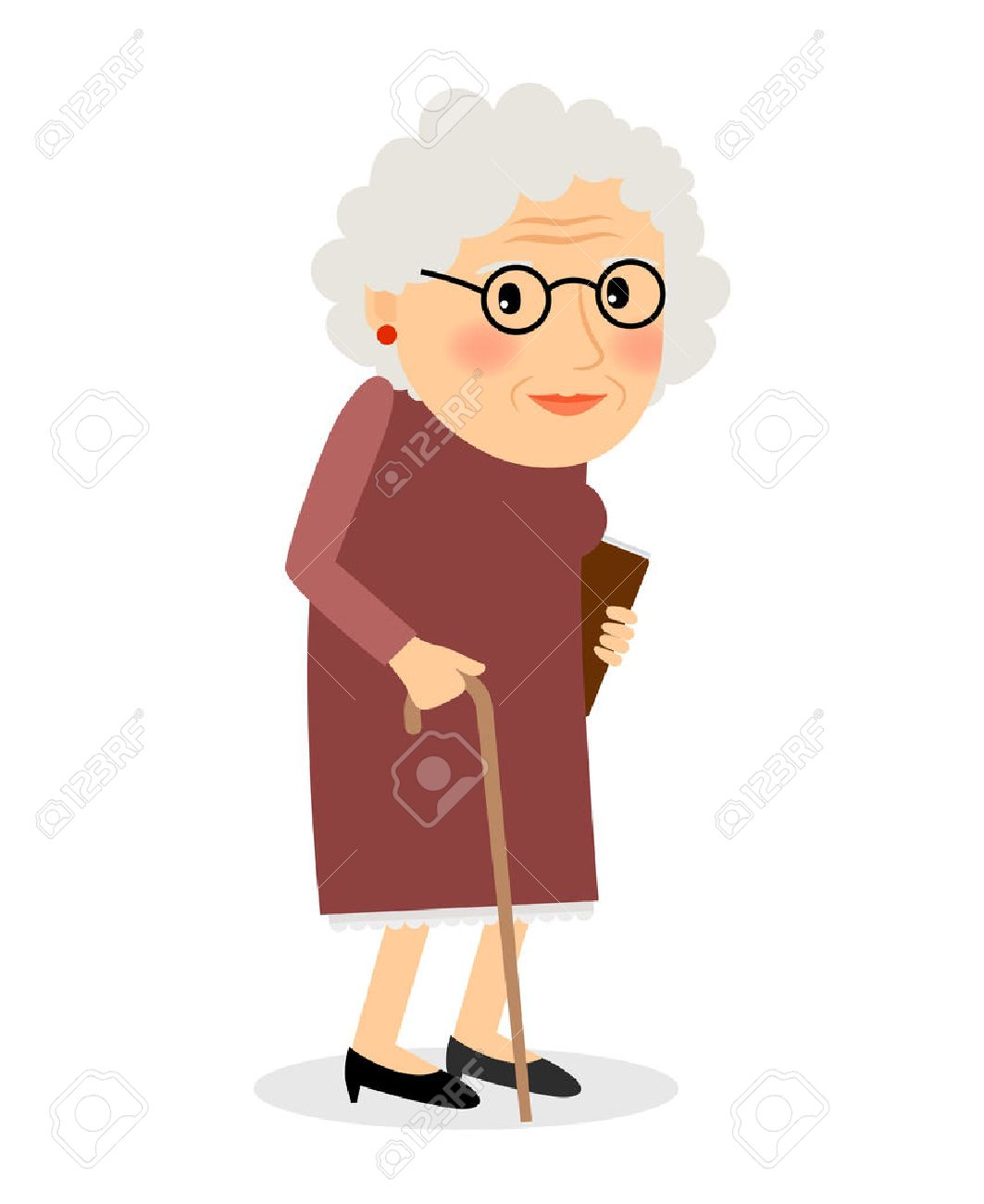 49964324-old-woman-with-cane-senior-lady-with-glasses-walking-vector-illustration-